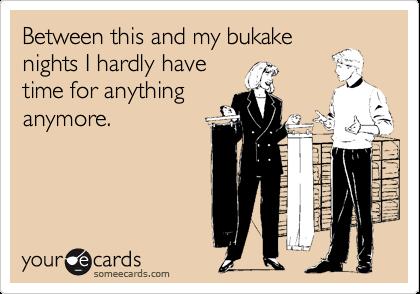 What Does Bukake Mean