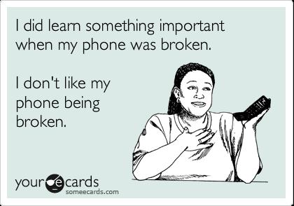 Image result for broken phone funny