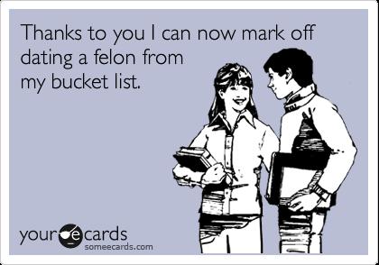 dating a felon