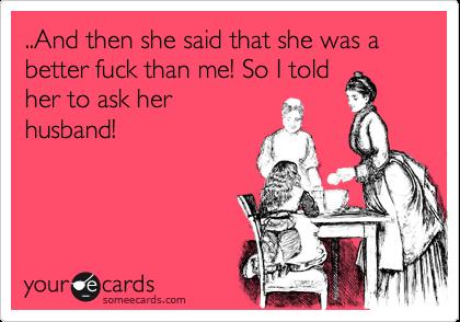 She Said Fuck Her Husband