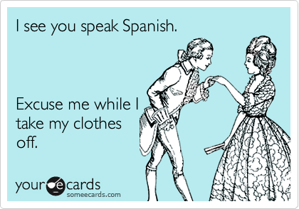 flirting in spanish