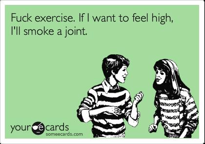 Apologise, but, Exercise fuck theme