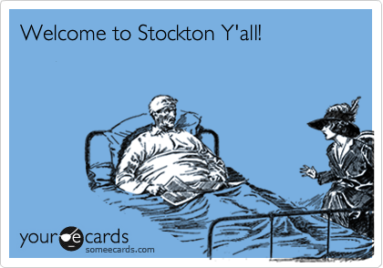 Welcome to Stockton Y'all!