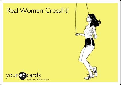 Real Women CrossFit!