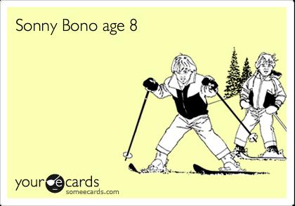 Sonny Bono age 8