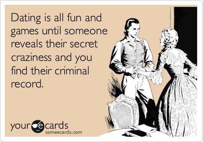 Dating someone with a criminal record