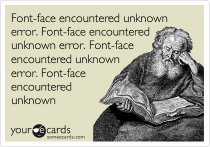 Font-face encountered unknown error. Font-face encountered unknown error. Font-face encountered unknown  error. Font-face encountered  unknown