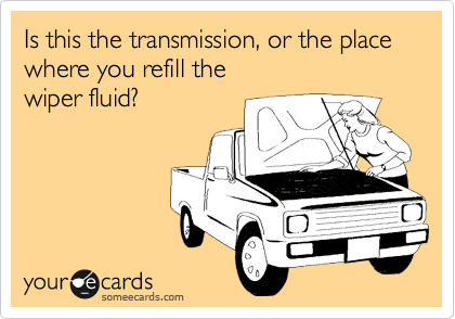 Is this the transmission, or the place where you refill the  wiper fluid?