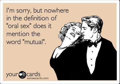 Was ist die Definition von Fellatio?