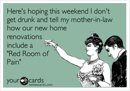 Apologise, can Getting drunk with family confirm. agree