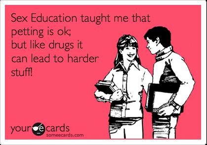 Sex education flirting