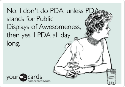 What Does Pda Stand For In Texting