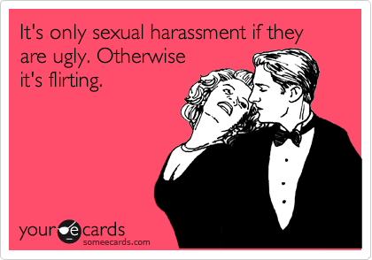 Examples of sexual harassment jokes