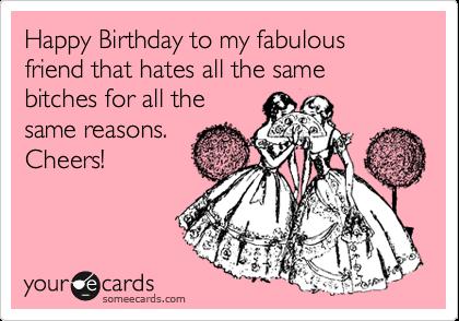 Imagenes De Happy Birthday Fabulous Friend Meme
