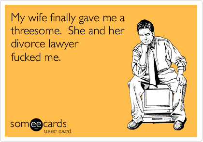 Threesome with a lawyer