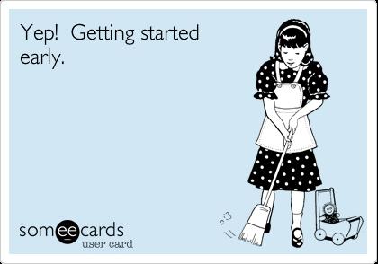 Yep!  Getting started early.