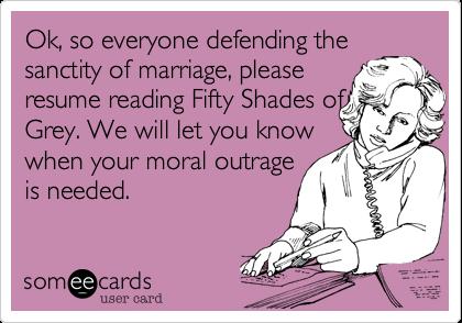 ok so everyone defending the sanctity of marriage please resume