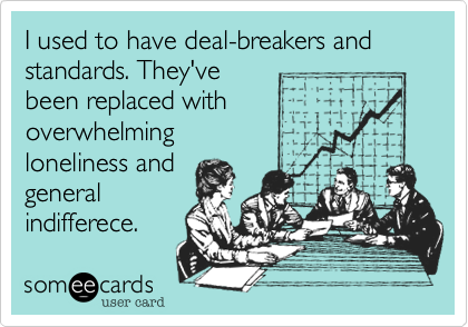 Standards and Deal Breakers