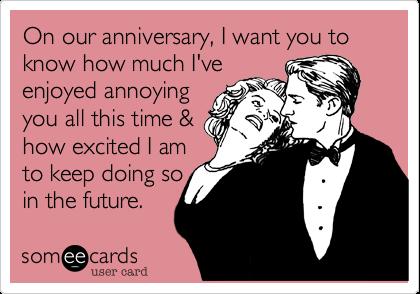 Funny Anniversary Ecards Anniversary