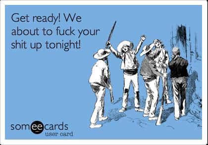 Get a fuck tonight