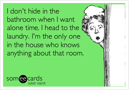 I don't hide in the