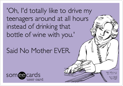 'Oh, I'd totally like to drive my