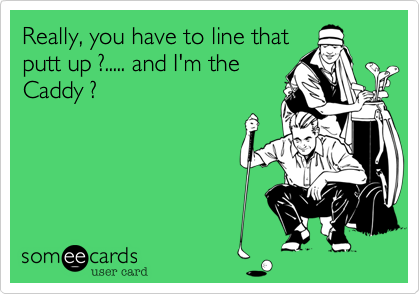 Really, you have to line that
