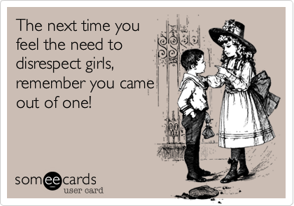 The next time you