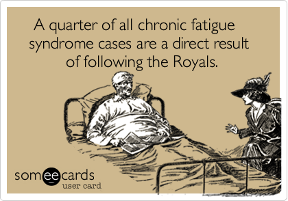 A quarter of all chronic fatigue     