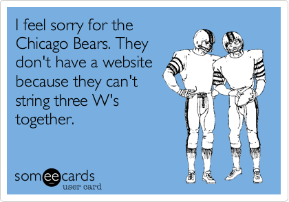 I feel sorry for the