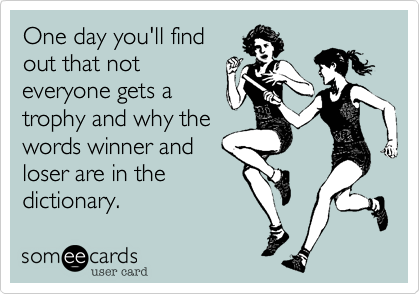 One day you'll find