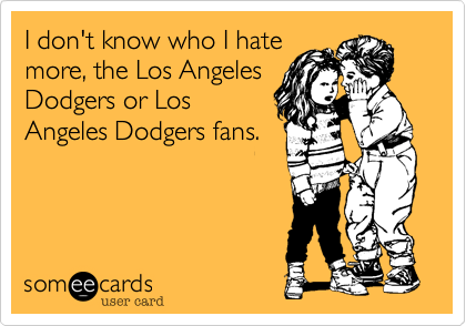 I don't know who I hate