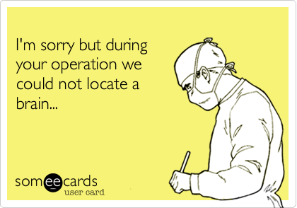 I'm sorry but during