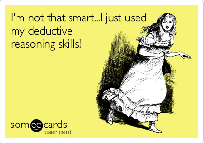 I'm not that smart...I just used