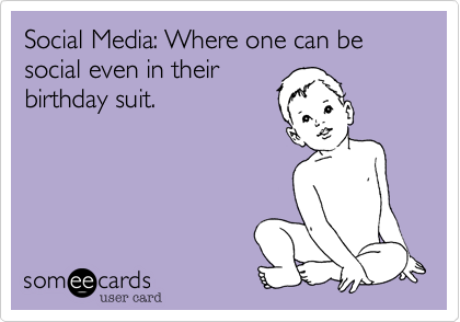 Social Media: Where one can be social even in their
