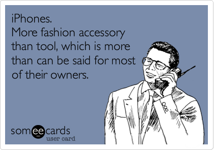 iPhones.