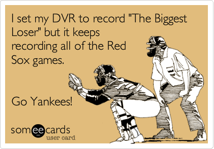 "I set my DVR to record ""The Biggest 