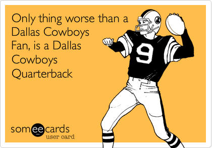 Only thing worse than a