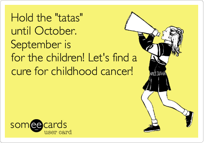 "Hold the ""tatas""