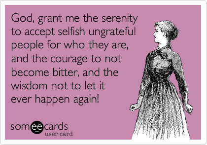 God, grant me the serenity