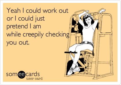 Yeah I could work out