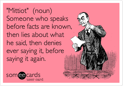 """Mittiot""  (noun)