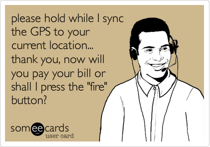 please hold while I sync