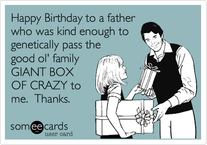 Happy Birthday to a father