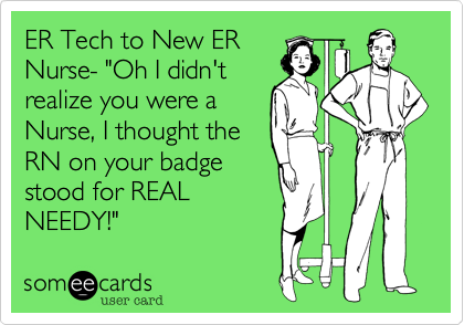 ER Tech to New ER