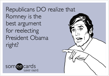 Republicans DO realize that