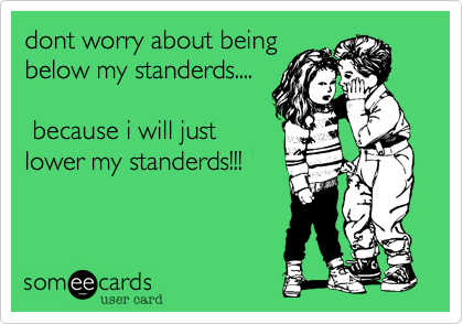 dont worry about being