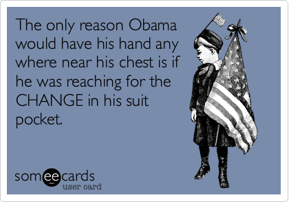 The only reason Obama