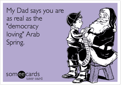 My Dad says you are