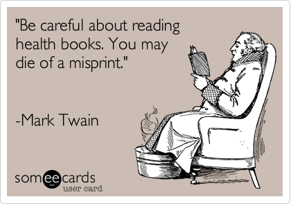 """Be careful about reading
